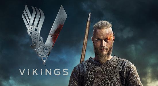 Ragnar, photoshoppato con una fenice in un occhio.